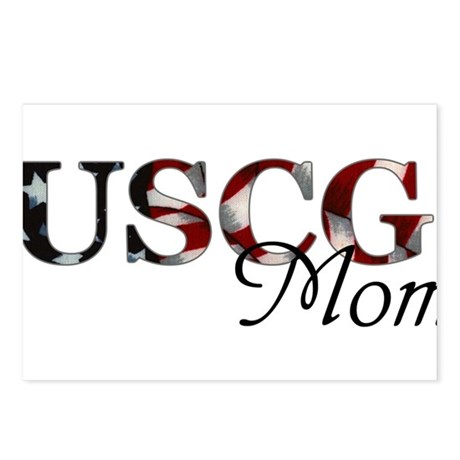 USCG Mom Postcards (Package of 8)