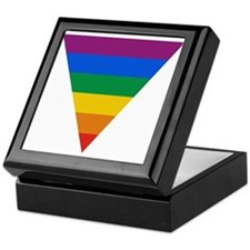 Pride Triangle Keepsake Box