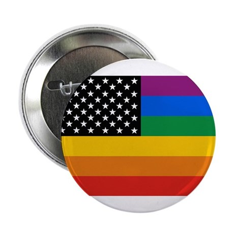 "Gay Pride 2.25"" Button (10 pack)"