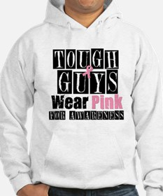 Tough Guys Wear Pink Jumper Hoody
