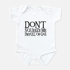 DON'T SQUEEZE (blk) Infant Bodysuit