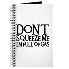 DON'T SQUEEZE (blk) Journal