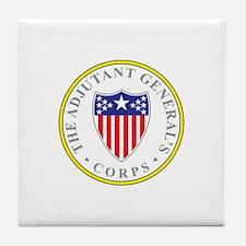 ADJUTANT-GENERAL-CORP Tile Coaster