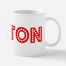Retro Dalton (Red) Mug