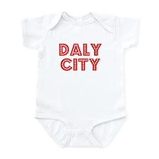Retro Daly City (Red) Infant Bodysuit