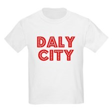 Retro Daly City (Red) T-Shirt