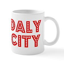 Retro Daly City (Red) Mug