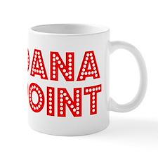 Retro Dana Point (Red) Mug
