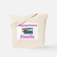 Hippopotamus Fanatic Tote Bag