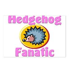 Hedgehog Fanatic Postcards (Package of 8)