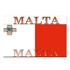 Malta Postcards (Package of 8)
