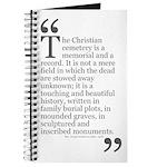 Christian Cemetery Journal