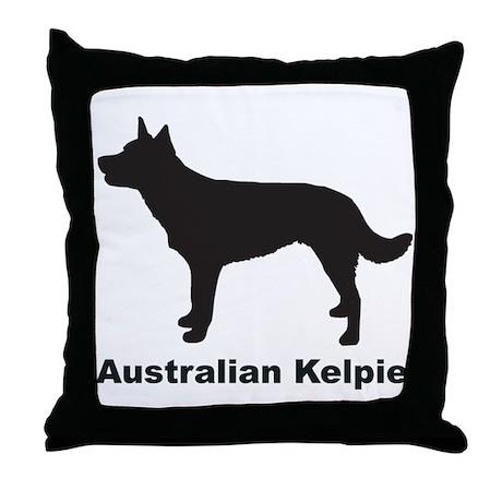 AUSTRALIAN KELPIE Throw Pillow