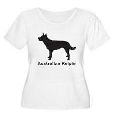 AUSTRALIAN KELPIE Womens Plus-Size Scoop Neck T
