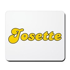 Retro Josette (Gold) Mousepad