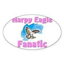 Harpy Eagle Fanatic Oval Decal