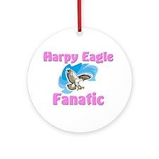 Harpy Eagle Fanatic Ornament (Round)
