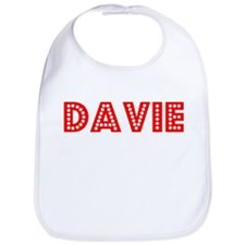 Retro Davie (Red) Bib
