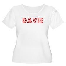 Retro Davie (Red) T-Shirt