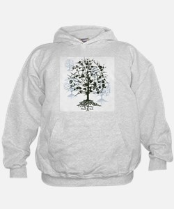 Guitars Tree Roots Hoodie