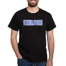 Retro Kelsie (Blue) T-Shirt
