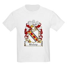 Bishop Family Crest Kids T-Shirt