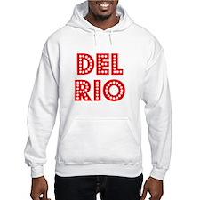 Retro Del Rio (Red) Hoodie