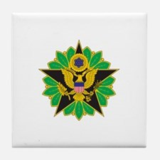 ARMY-STAFF Tile Coaster