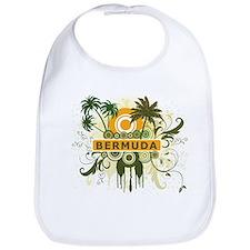 Palm Tree Bermuda Bib
