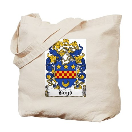 Boyd Family Crest Tote Bag