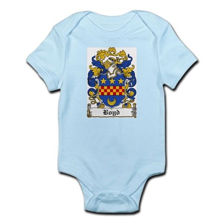 Boyd Family Crest Infant Creeper