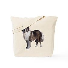 Caucasian Ovcharka portrait Tote Bag