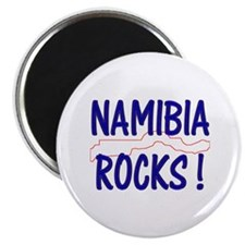 "Namibia Rocks ! 2.25"" Magnet (10 pack)"