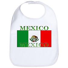 Mexico Mexican Flag Bib