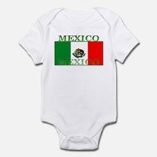Mexico Mexican Flag Infant Creeper