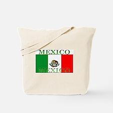 Mexico Mexican Flag Tote Bag