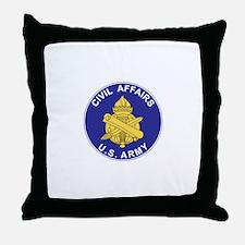 CIVIL-AFFAIRS Throw Pillow