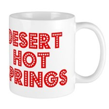 Retro Desert Hot S.. (Red) Mug