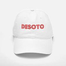Retro DeSoto (Red) Baseball Baseball Cap