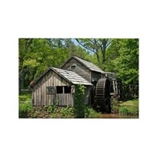 Mabry Mill Rectangle Magnet