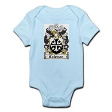 Coleman Family Crest Infant Creeper