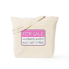 4SALE HUSB/KIDS (pnk) Tote Bag