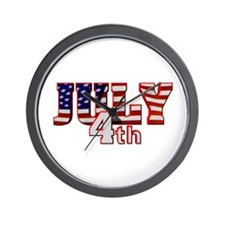 July 4th Wall Clock