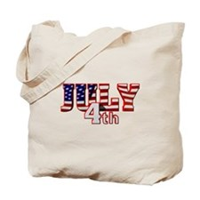 July 4th Tote Bag