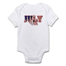 July 4th Infant Bodysuit