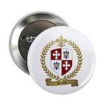 BERUBE Family Crest Button