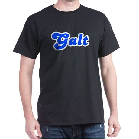 Retro Galt (Blue) Dark T-Shirt