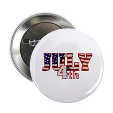 """July 4th 2.25"""" Button"""