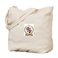 BERUBE Family Crest Tote Bag