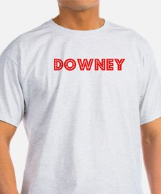 Retro Downey (Red) T-Shirt